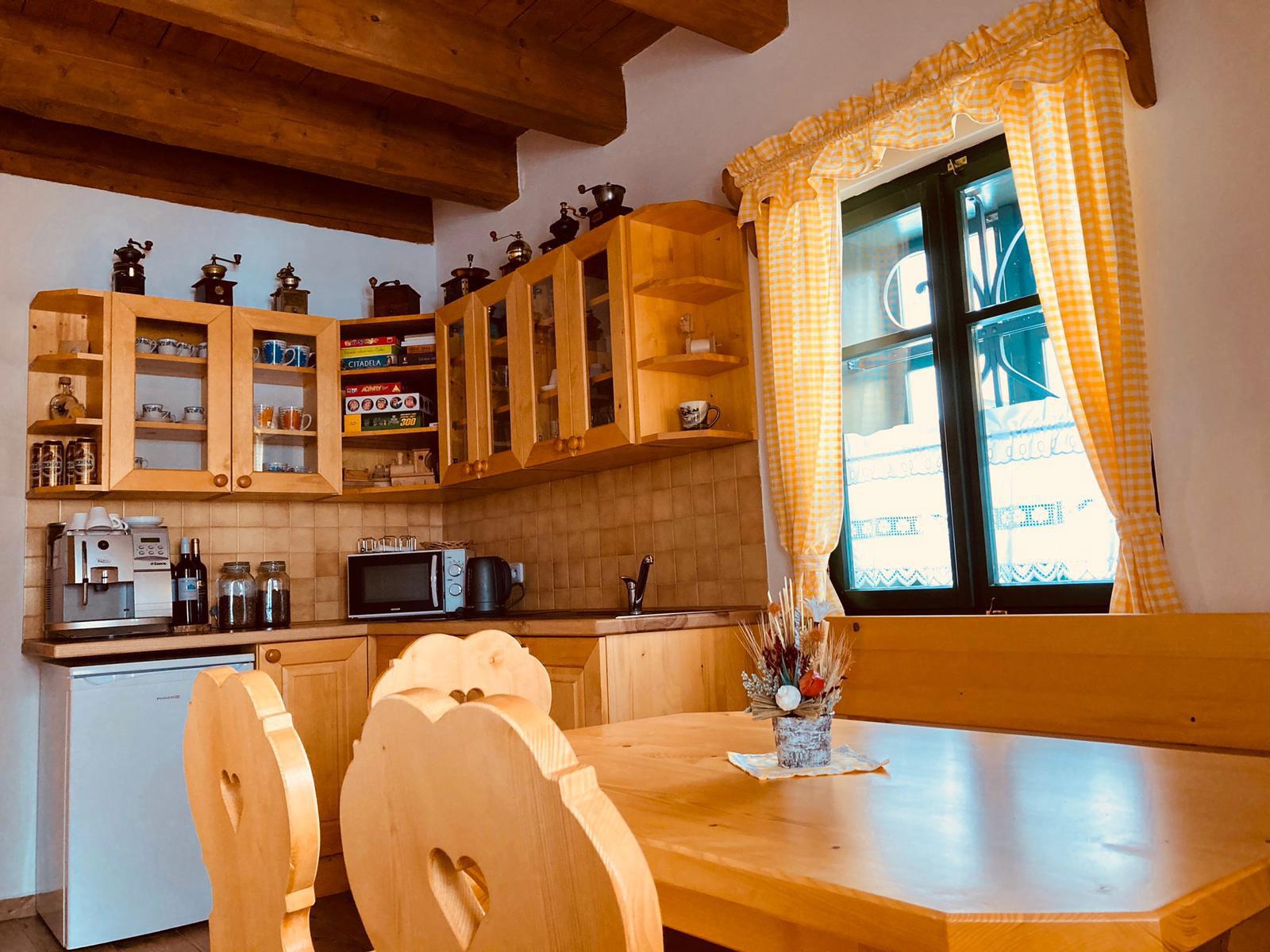 chalupy - kuchyňka